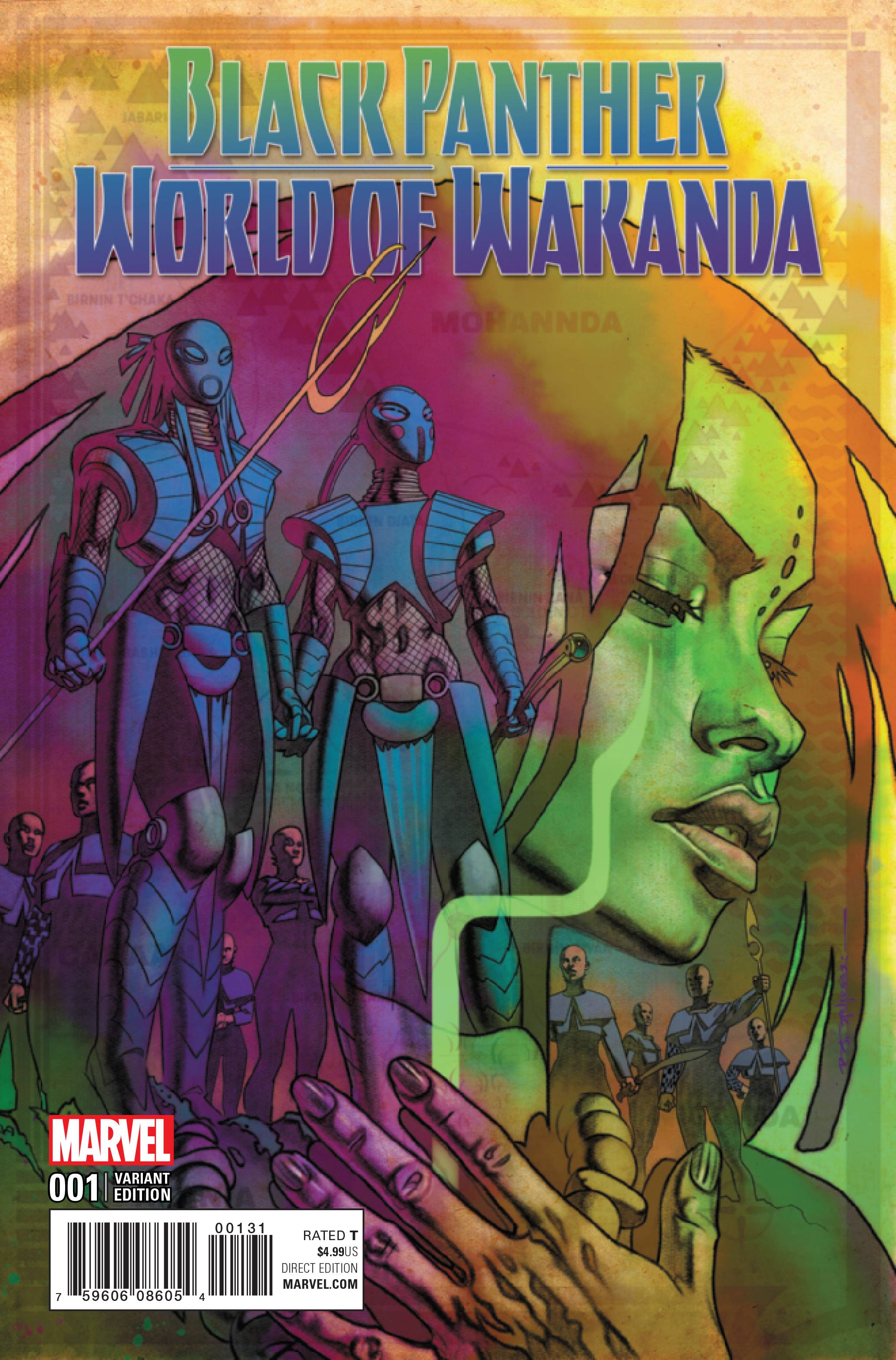Black Panther World Of Wakanda 1 Stelfreeze Variant Cover 1 In 25