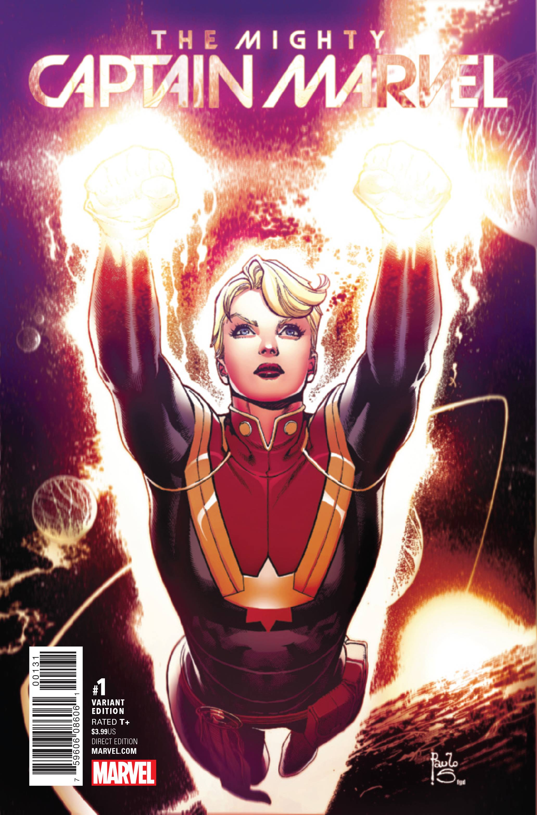 Mighty Captain Marvel 1 Siqueira Variant Cover 1 In 25 Copies