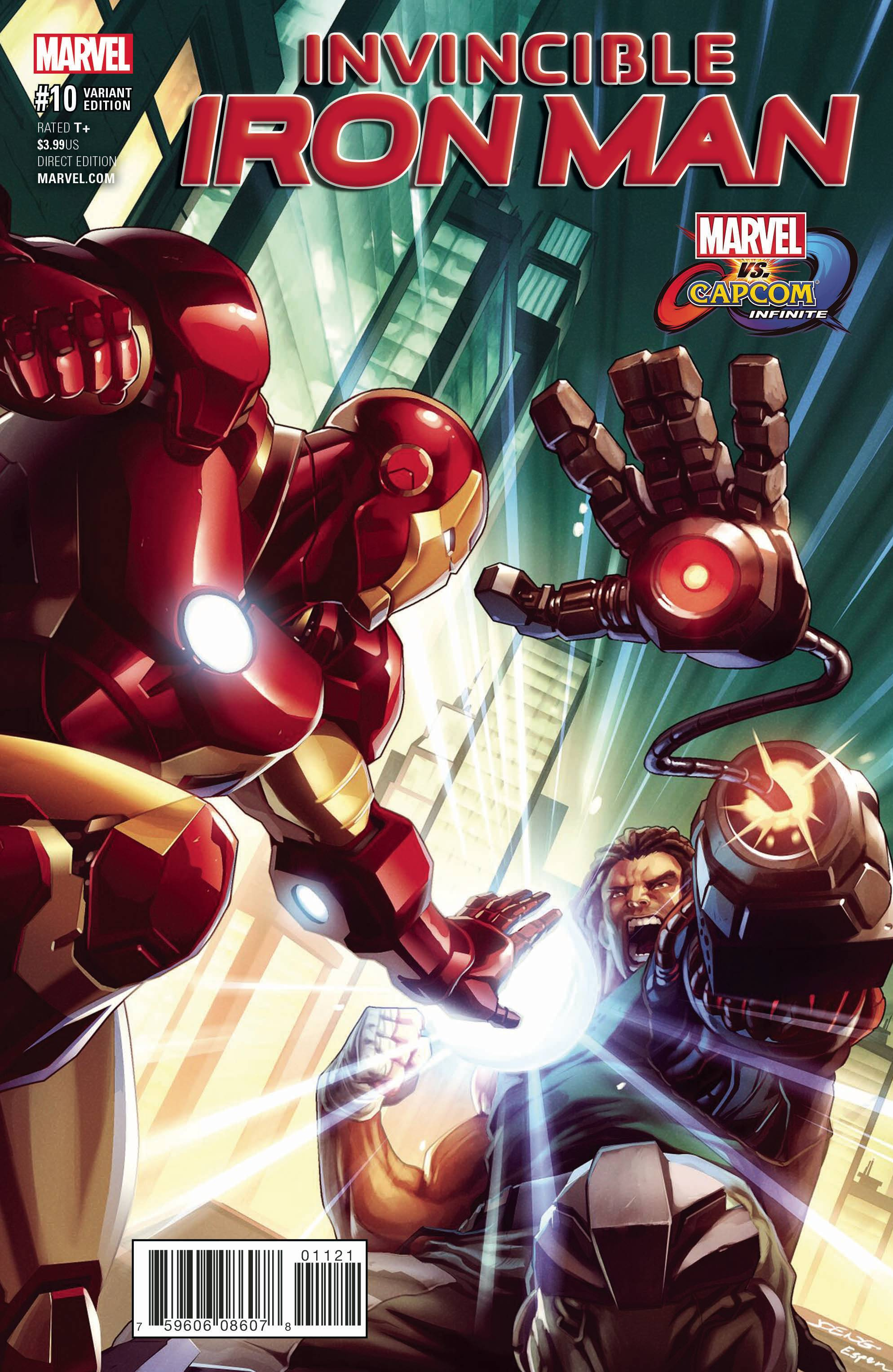 Read comics online free invincible iron man chapter 004 page 1.