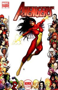 Avengersspider woman of marvel