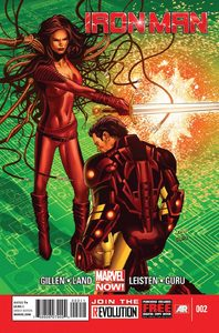 Iron man vol 5 2 regular cover