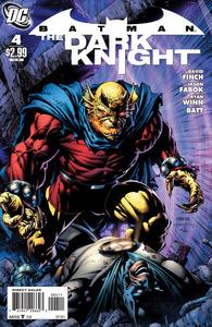 Batman the dark knight 4 cover 1