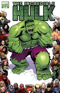 Incredible hulk vol 1 601 70th frame variant
