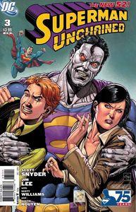 Superman unchained 3 ethan van sciver vs bizarro variant jim lee scott snyder 350863862575