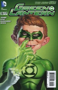 Green lantern vol 5 19 mad variant
