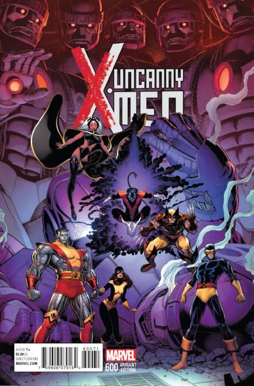 Uncanny X Men 600 Art Adams Var