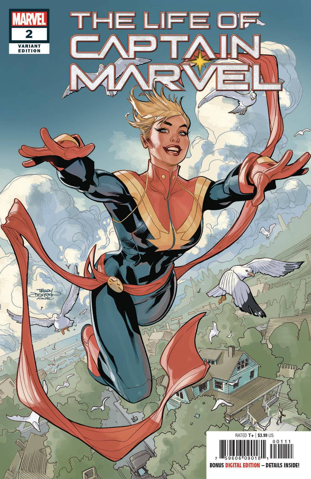 Life Of Captain Marvel 2 Of 5 Dodson Variant Cover 1 In 25 Copies